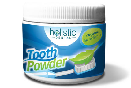 Herbal Tooth and Gum Powder with Natural Ingredients